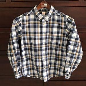 2/$30 *️⃣ Gymboree plaid button down shirt